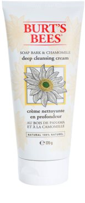 Burt´s Bees Soap Bark & Chamomile crema de limpieza profunda
