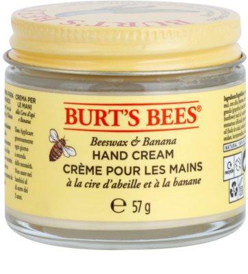 Burt´s Bees Beeswax & Banana crema de maini