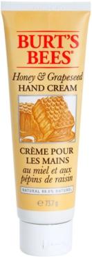 Burt´s Bees Honey & Grapeseed crema de manos para pieles secas y agrietadas