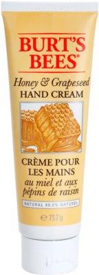 Burt´s Bees Honey & Grapeseed kézkrém a száraz és repedezett bőrre