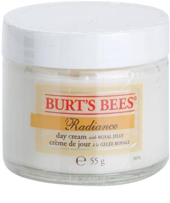 Burt´s Bees Radiance krem do twarzy z mleczkiem pszczelim