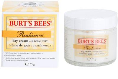 Burt´s Bees Radiance krem do twarzy z mleczkiem pszczelim 1
