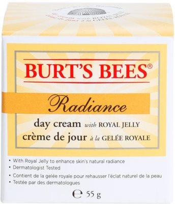 Burt´s Bees Radiance krem do twarzy z mleczkiem pszczelim 2