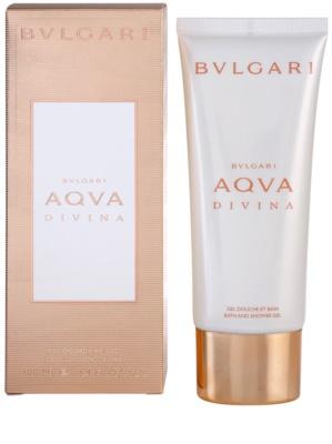 Bvlgari AQVA Divina gel de dus pentru femei