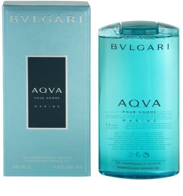 Bvlgari AQVA Marine Pour Homme гель для душу для чоловіків