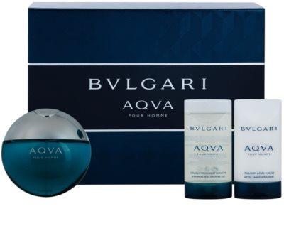 Bvlgari AQVA Pour Homme coffret presente