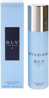 Bvlgari BLV II testápoló tej nőknek