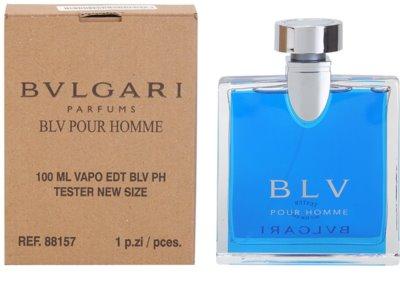 Bvlgari BLV pour homme туалетна вода тестер для чоловіків 2