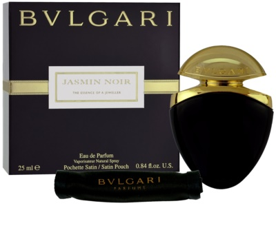 Bvlgari Jasmin Noir Eau de Parfum für Damen  + Satinbeutel