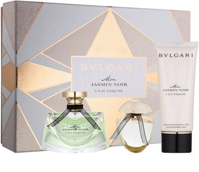 Bvlgari Jasmin Noir Mon L'Eau Exquise darčeková sada