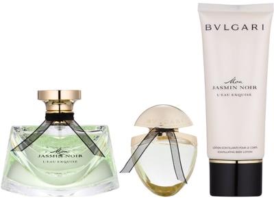 Bvlgari Jasmin Noir Mon L'Eau Exquise подаръчен комплект 1