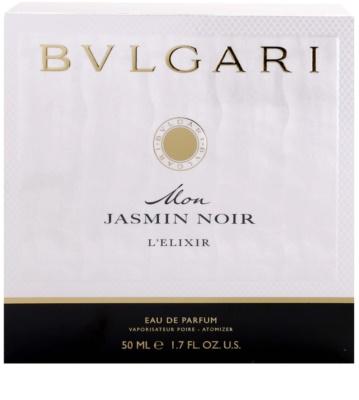 Bvlgari Mon Jasmin Noir L'Elixir Eau De Parfum pentru femei 3