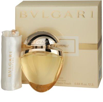 Bvlgari Jewel Charms Pour Femme eau de parfum para mujer  + bolsita de satén 1