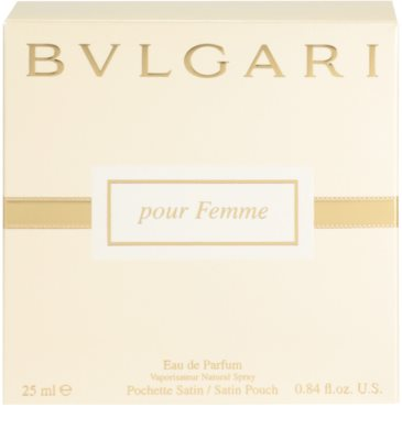 Bvlgari Jewel Charms Pour Femme eau de parfum para mujer  + bolsita de satén 4