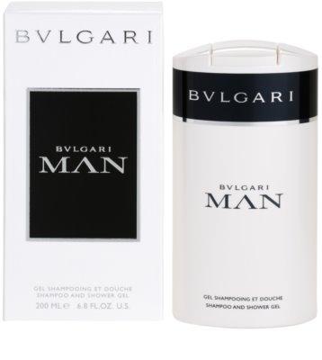 Bvlgari Man żel pod prysznic dla mężczyzn