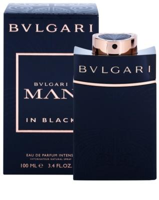 Bvlgari Man in Black Intense eau de parfum para hombre 1