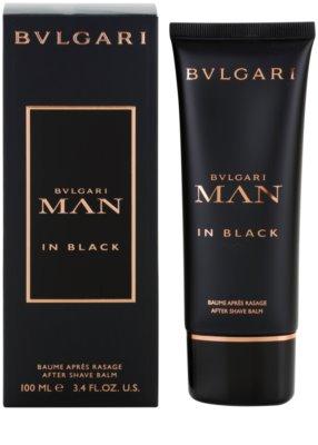 Bvlgari Man In Black After Shave balsam pentru barbati
