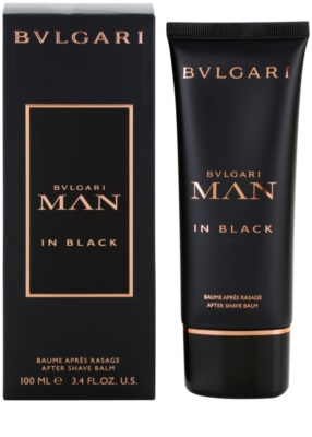 Bvlgari Man In Black balsam po goleniu dla mężczyzn