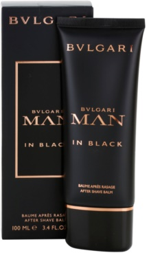 Bvlgari Man In Black bálsamo after shave para hombre 1