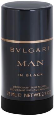 Bvlgari Man In Black desodorante en barra para hombre