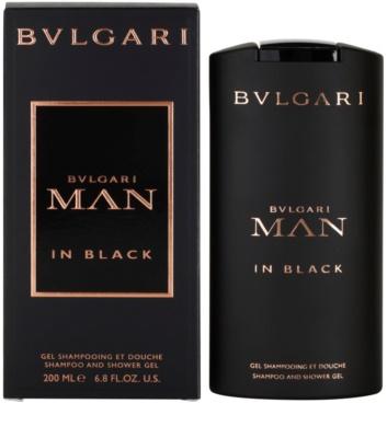 Bvlgari Man In Black gel de dus pentru barbati