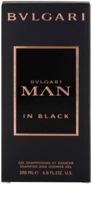 Bvlgari Man In Black gel de ducha para hombre 3