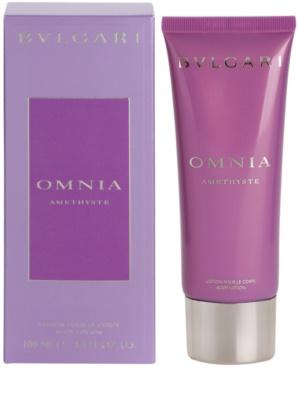 Bvlgari Omnia Amethyste leite corporal para mulheres
