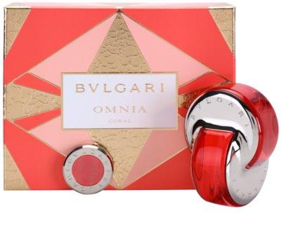 Bvlgari Omnia Coral coffret presente