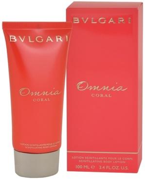 Bvlgari Omnia Coral тоалетно мляко за тяло за жени