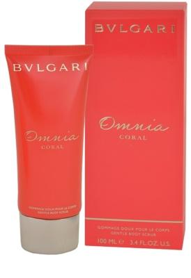 Bvlgari Omnia Coral sprchový gel pro ženy  tělový sprchový peeling