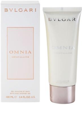Bvlgari Omnia Crystalline gel de ducha para mujer