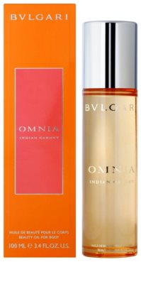 Bvlgari Omnia Indian Garnet óleo corporal para mulheres