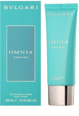 Bvlgari Omnia Paraiba тоалетно мляко за тяло за жени