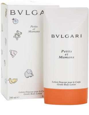 Bvlgari Petits Et Mamans тоалетно мляко за тяло за жени 1