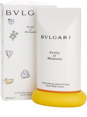 Bvlgari Petits Et Mamans тоалетно мляко за тяло за жени 4