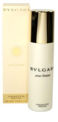 Bvlgari Pour Femme mleczko do ciała dla kobiet