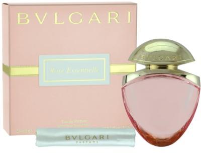 Bvlgari Rose Essentielle Eau De Parfum pentru femei  + husă de satin