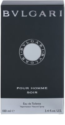 Bvlgari Pour Homme Soir Eau de Toilette para homens 4