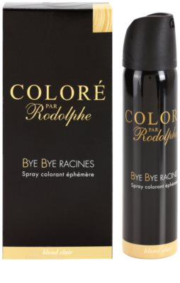Bye Bye Racines Coloré par Rodolphe tónovací barva na odrosty ve spreji 1