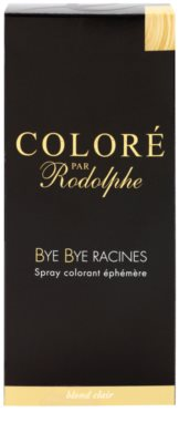 Bye Bye Racines Coloré par Rodolphe coloração para cobrir as raízes em spray 2