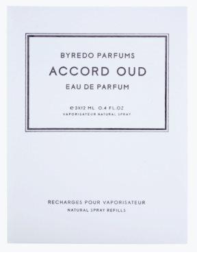 Byredo Accord Oud парфумована вода унісекс  (3x флакон наповнення з пульверизатором) 3