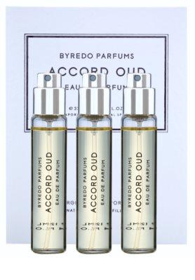 Byredo Accord Oud parfémovaná voda unisex  (3x náplň s rozprašovačom)