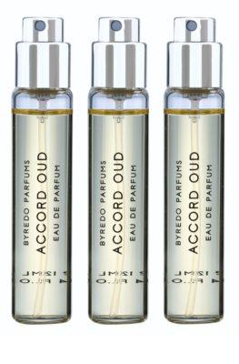 Byredo Accord Oud парфумована вода унісекс  (3x флакон наповнення з пульверизатором) 1