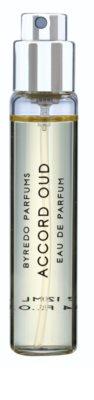 Byredo Accord Oud парфумована вода унісекс  (3x флакон наповнення з пульверизатором) 2