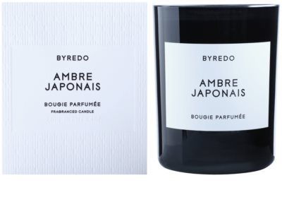 Byredo Ambre Japonais vela perfumado