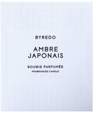 Byredo Ambre Japonais vela perfumada 3