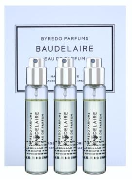 Byredo Baudelaire парфюмна вода за мъже  (3 бр.пълнители с пулверизатор)