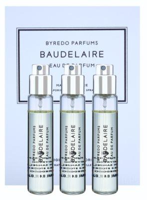 Byredo Baudelaire eau de parfum para hombre  (3x recambio con difusor)