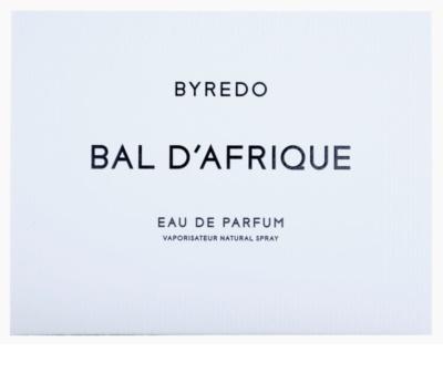 Byredo Bal D'Afrique Eau de Parfum unisex  Dreifach-Nachfüllpackung mit Zerstäuber 3