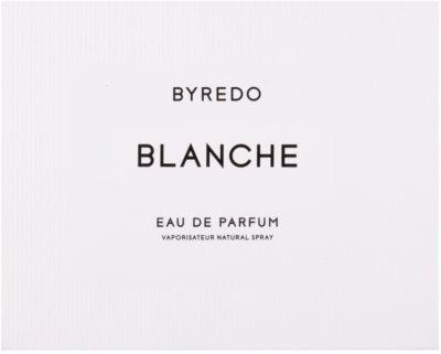 Byredo Blanche eau de parfum para mujer 4
